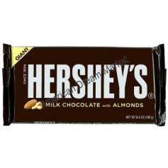 Hershey giant milk chocolate with almond