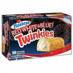 Hostess twinkies red white and blue