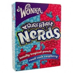 Wonka nerds mini bonbons pasteque cerise