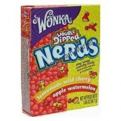 Wonka nerds mini bonbons limonade cerise et pomme pasteque
