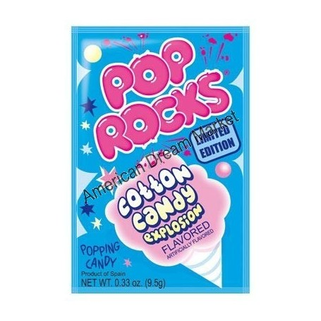 Pop Rocks cotton candy popping candy