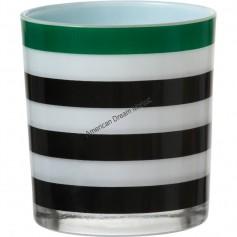 Photophore festive stripes