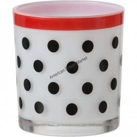 Photophore festive polka dot