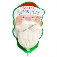 Santa's beard pops
