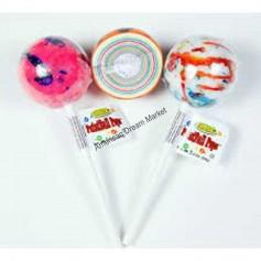 Icee jawsbreker lollipop