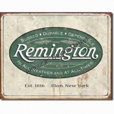 Remington weathered logo