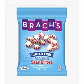 Brach's sugar free star bites peppermint