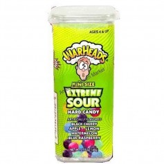 Warheads extreme sour hard candy mini's
