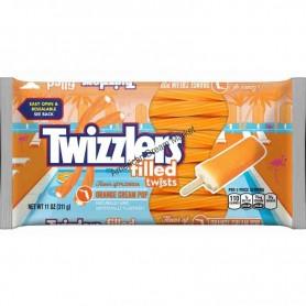 Twizzlers filled twist orange cream pop