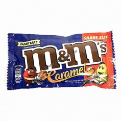 m&m's caramel sharing size