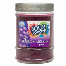 Jolly rancher canister candle grape