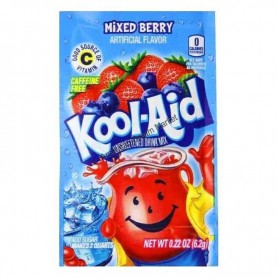Kool Aid mixed berry sachet