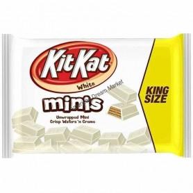 KIT KAT WHITE CHOCOLATE minis king size