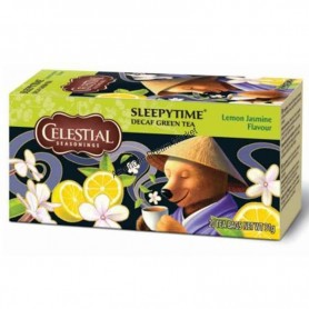 Celestial infusion spleepytime decaf green tea lemon jasmin