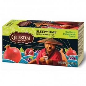 Celestial infusion spleepytime decaf green tea mure grenade
