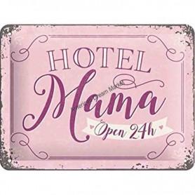 Plaque hotel mama 3D