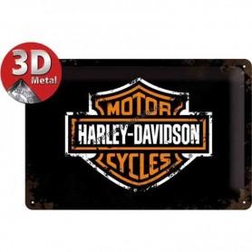 Plaque harley logo 3D MM