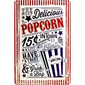 Plaque delicious popcorn 3D MM