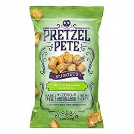 Pretzel pete nuggets garlic and parmesan
