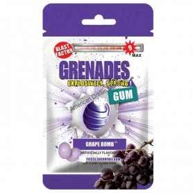 Grenades gum grape bomb