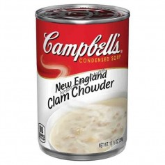 Campbells' new england clam chowder