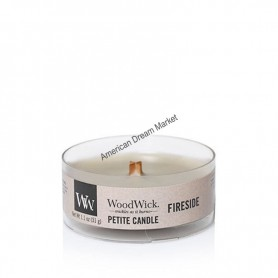 WoodWick petite candle fireside