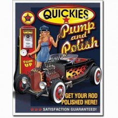 Quickies pum and polish
