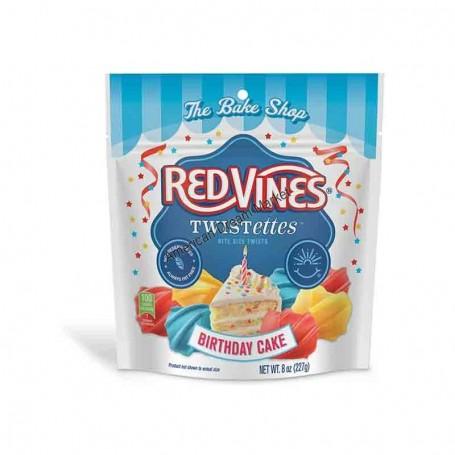 RedVines twistettes birthday cake