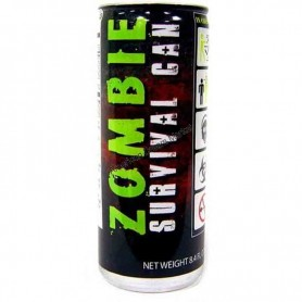 Zombie survival can energy drink