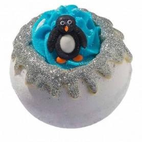 Boule de bain pick up a penguin