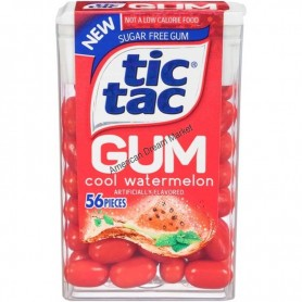 Tic tac gum cool watermelon
