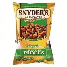 Snyder's of hanover pretzel pieces jalapeno