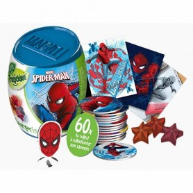 Disney spiderman surprise candy capsule