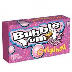 Bubble yum chewing gum original GM