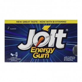 Jolt energy gum icy mint