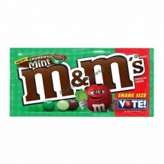 M&m's crunchy mint share size