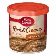 Betty crocker rich and creamy coconut pecan