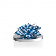 Décoration bougie BBW noeud bleu