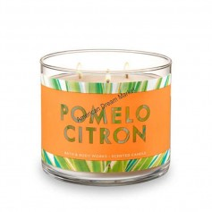 BBW bougie pomelo citron