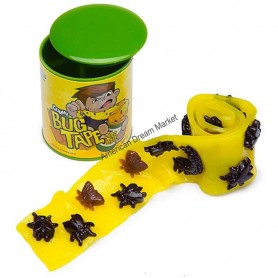 Gummy bug tape