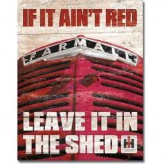 Farmall if it ain't red
