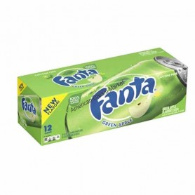 Fanta green apple x12