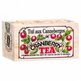 Thé aux canneberges