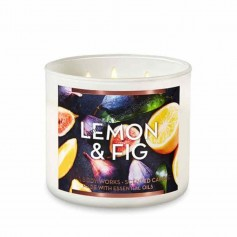 BBW bougie lemon and fig