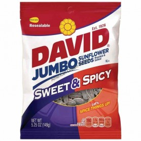 David sunflower seeds sweet and spicy