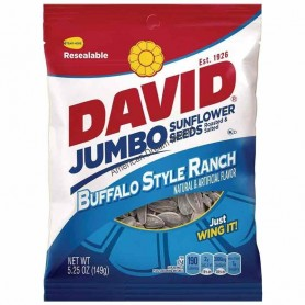 David sunflower seeds buffalo style ranch