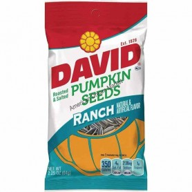 David pumpkin seeds ranch
