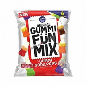 Gummi fun mix gummi soda pops