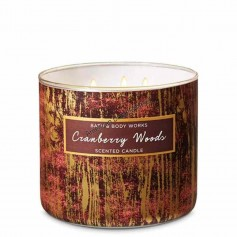 BBW bougie cranberry woods