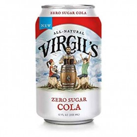 Virgil's zero sucre cola